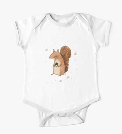 Sarah the Squirrel One Piece - Short Sleeve