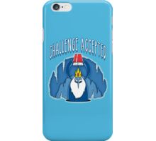 Challenge Time (collab with manospd) iPhone Case/Skin