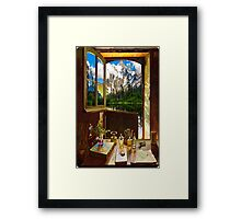 Door 6-1 Framed Print