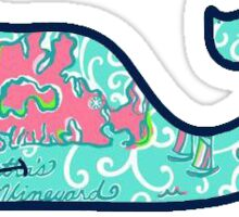 Marthas Vineyard Vines Whale Sticker