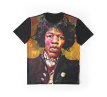 Jimmy Hendrix Fanart Graphic T-Shirt