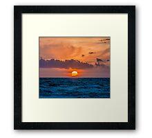 Dutch Sunset Framed Print