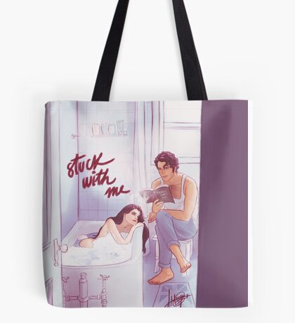 Stuck With Me Tote Bag