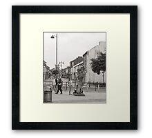 street view Framed Print