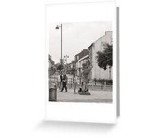 street view Greeting Card