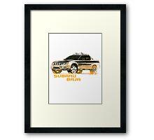 Subaru Baja Pickup Ute 2  Framed Print