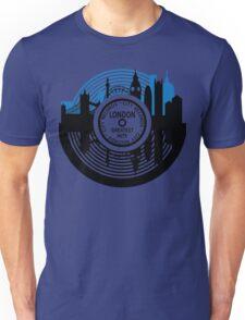 London City Vinyl Record Unisex T-Shirt