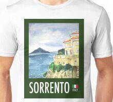 Vintage Travel Poster: Sorrento  Unisex T-Shirt