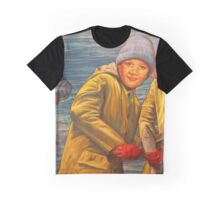 Maelstrom Mural - Kids Fishing Graphic T-Shirt