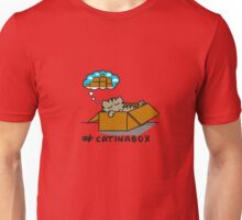 Cat in a box  Unisex T-Shirt