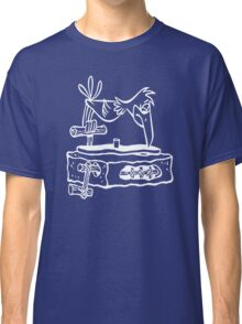 Flintstones Vinyl Record Dj Turntable Classic T-Shirt