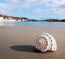Deserted Beach - Lyme Regis by Susie Peek