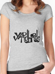 YARDdiRds logo Women's Fitted Scoop T-Shirt