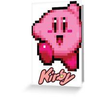 Kirby 16bit Greeting Card