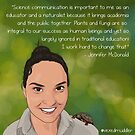 #SciComm100: Jennifer McDonald by ScienceBorealis