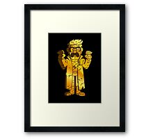 Bills Golden Backscratcher! Framed Print