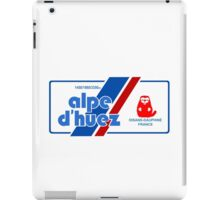 Alpe D'Huez Cycling Mountain Marmotte Beaver iPad Case/Skin