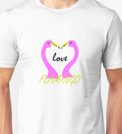 Flamingos Unisex T-Shirt