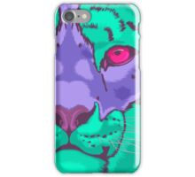 Psychedelic Snow Leopard iPhone Case/Skin