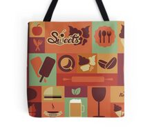 Food Icons Tote Bag
