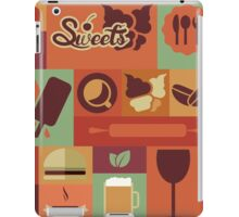 Food Icons iPad Case/Skin