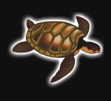 TURTLE, Green, sea turtle One Piece - Short Sleeve