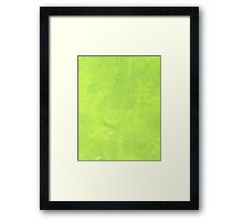 Abstract green paper Framed Print