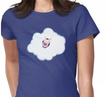 Lil Ladybug Cloud Nap Womens Fitted T-Shirt