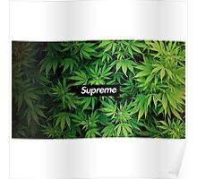 Supreme Weed Poster