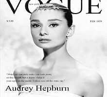 Audrey Hepburn for VOGUE by sophietask