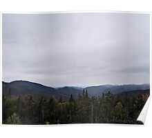 View from Mount Washington Poster