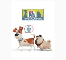 the secret life of pets White 01 Kids Tee