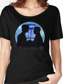 supernatural sam dean winchesters jared jensen padalecki ackles moose squirrel Women's Relaxed Fit T-Shirt