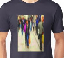 The busy streets in our lives Unisex T-Shirt