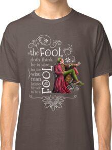 David Tennant Shakespeare Touchstone Quote Art Classic T-Shirt