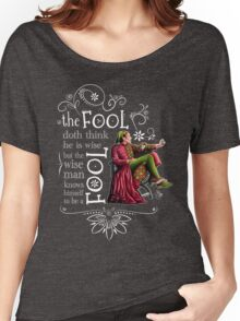 David Tennant Shakespeare Touchstone Quote Art Women's Relaxed Fit T-Shirt
