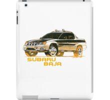 Subaru Baja Pickup Ute 2  iPad Case/Skin