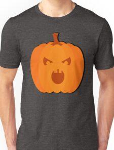 """Halloween images  """"Evil Pumpkin"""" Unisex T-Shirt"""