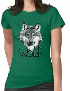 Wolf 6 Womens Fitted T-Shirt