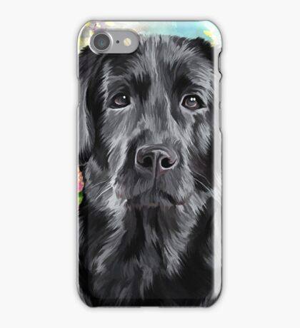 Labrador Painting  iPhone Case/Skin