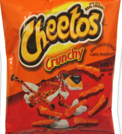 Cheetos Sticker