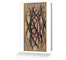 Abstract composition 484 Greeting Card