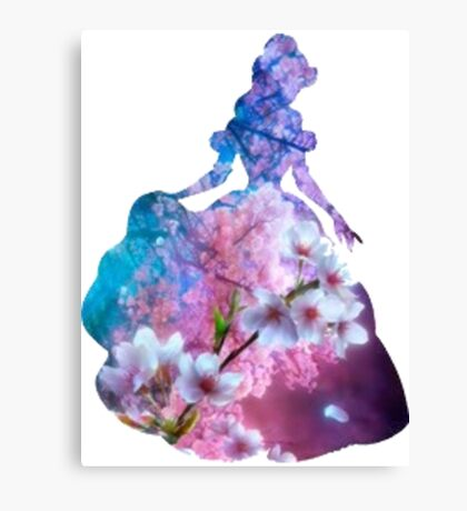 Flower Garden inspired Character Canvas Print