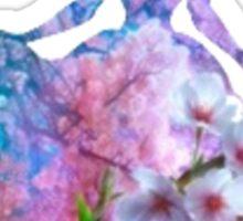 Flower Garden inspired Character Sticker
