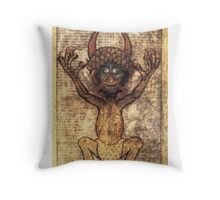 Codex Gigas Throw Pillow