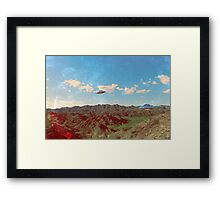 Bill Williams River Framed Print
