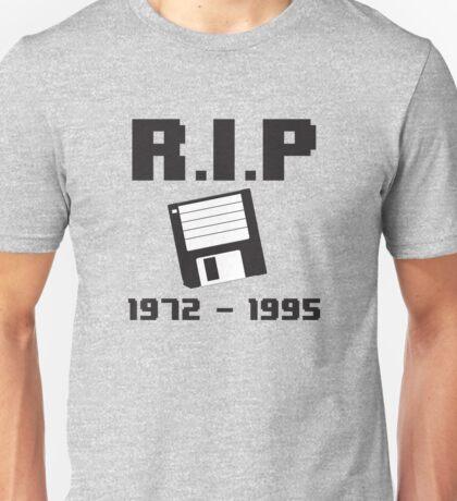 RIP Floppy Disk - 1972-1995 Unisex T-Shirt