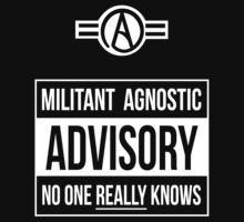 Advisory -- Militant Agnostic by Samuel Sheats