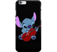 Stitch and a cello - requested  iPhone Case/Skin
