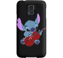 Stitch and a cello - requested  Samsung Galaxy Case/Skin